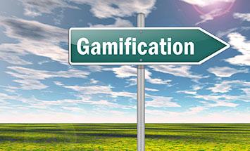 Gamification skylt