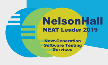 Leader in NelsonHall Testing Report